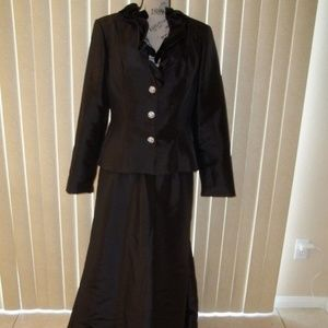 CATERINA COLLECTION BLACK MOB/FORMAL GOWN SIZE 10